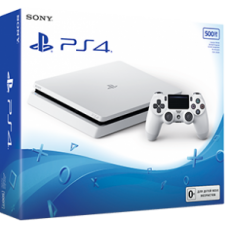 Sony Playstation 4 Slim 500 GB White Игровая консоль