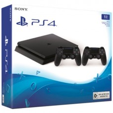 Sony Playstation 4 Slim 1TB Black Игровая консоль + Dualshock 4 V2