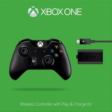 Джойстик Xbox One + Play and Charge Kit