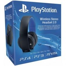 Беспроводные стерео наушники Sony Gold Wireless Stereo Headset BLACK для PS4