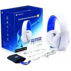 Беспроводные стерео наушники Sony Gold Wireless Stereo Headset White для PS4