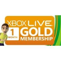 Карта оплаты Xbox Live Gold 1 месяц