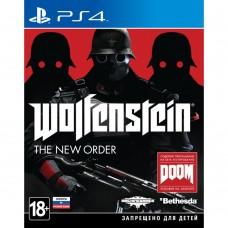 WOLFFENSTEIN: THE NEW ORDER (PS4)