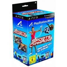 Праздник Спорта (Sports Champions русская версия) для PS Move+ камера PS Eye + контроллер движений (