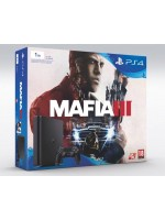 Sony Playstation 4 Slim 1Tb Black Игровая консоль + Mafia III