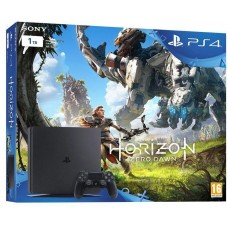 Sony Playstation 4 Slim 1TB Black + Horizon Zero Dawn